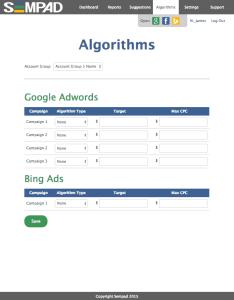 Ad Bidding Algorithms