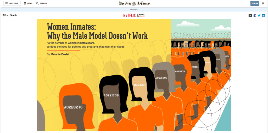 New York Times Native Ad