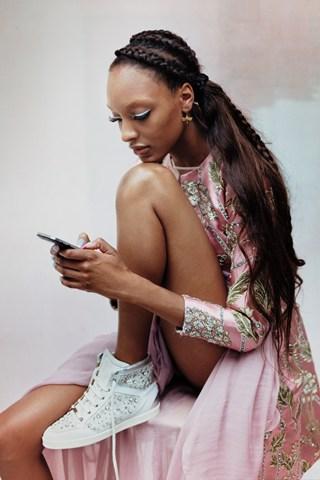 british vogue fashion whatsapp for brands